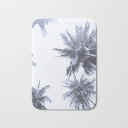 California Dreamin' in Blue Bath Mat