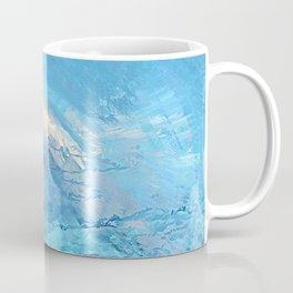 Blue Sky Abstract Coffee Mug