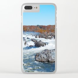 Great Falls Virginia Clear iPhone Case