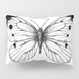 Cabbage butterfly Pillow Sham