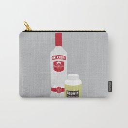 Vodka & Aspirin Carry-All Pouch