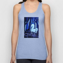 The Loveliest Of Them All Was The Unicorn Unisex Tank Top