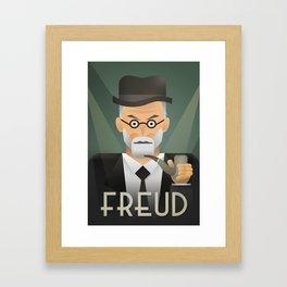 Freud Psychoanalyse Meister Framed Art Print