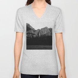 Yosemite Falls V Unisex V-Neck