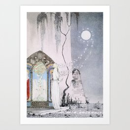 East of the Sun and West of the Moon - The Lassie & her Grandmother Art Print