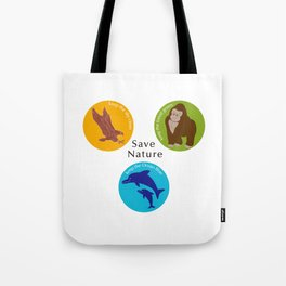 Save Nature_02 Tote Bag