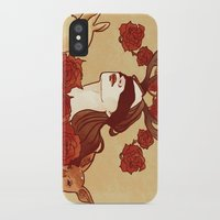 fawn iPhone & iPod Cases featuring fawn by chazstity