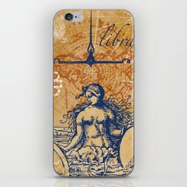 libra | waage iPhone Skin