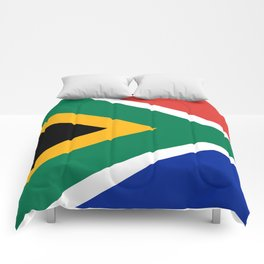 Flag of South Africa, Authentic color & scale Comforters