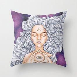 Take a look around Throw Pillow