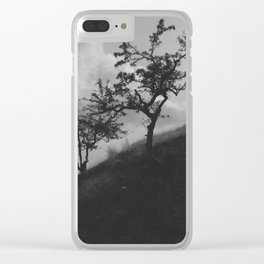 Hill Side Clear iPhone Case