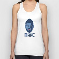 marc Tank Tops featuring Marc Gasol by Ric_Hardwood