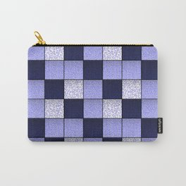 Blue Spotty Tiles Carry-All Pouch