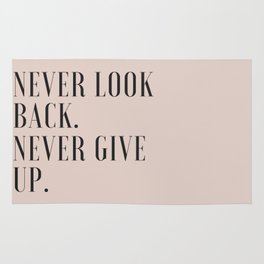 Never Look Back Rug