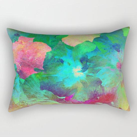 Hibiscus Dream #4 Rectangular Pillow