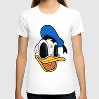 donald duck T-shirts featuring Donald Duck the Creep by Daniel Hannih