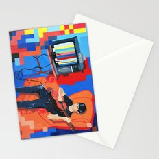 PIXEL BAND Stationery Cards