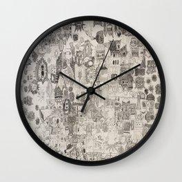 PsyDoodle Wall Clock