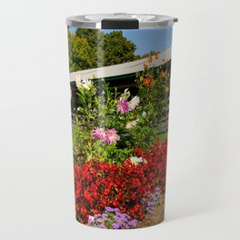 Flower Corner Travel Mug