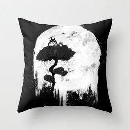 Midnight Spirits Throw Pillow