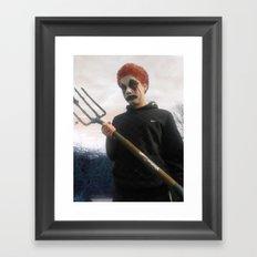 Clown Framed Art Print