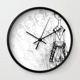 GrungeGirl. Wall Clock