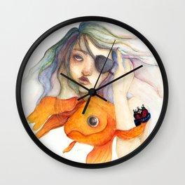 Pirate Queen Wall Clock