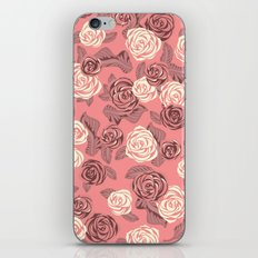 Bright Pink Roses iPhone & iPod Skin