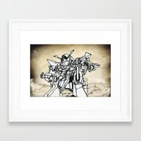 transformer Framed Art Prints featuring Transformer by Dave Houldershaw