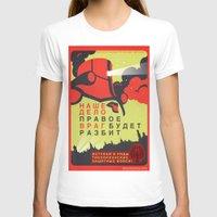 pacific rim T-shirts featuring Pacific Rim: Cherno Alpha Propaganda by MNM Studios