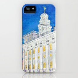 Nauvoo Illinois LDS Temple iPhone Case