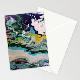 Cool Colors Stationery Cards