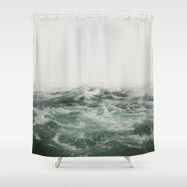 Green Sea Shower Curtain