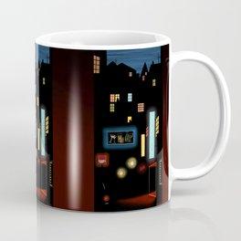 Late Night Neon Lights Coffee Mug
