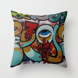 Weeping piece  Throw Pillow