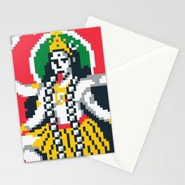Maa Kali Pixel Art Stationery Cards