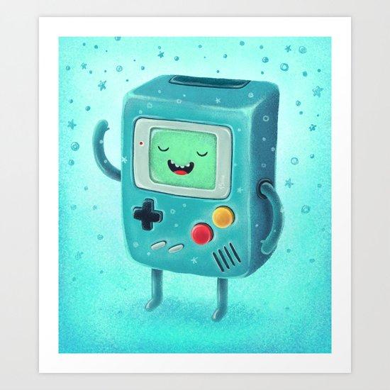 Game Beemo Art Print