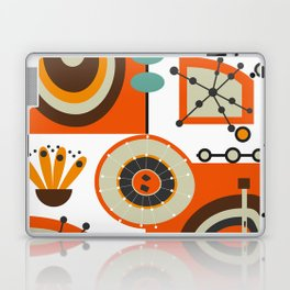 Vinyl and flowers Laptop & iPad Skin