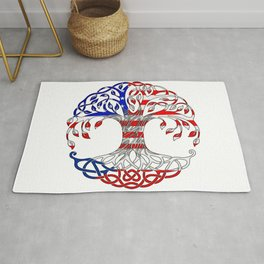 Czech roots of an American soul Rug
