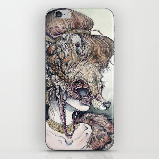 Vulpes Masquerade, now as a print! iPhone & iPod Skin