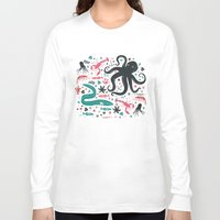 micklyn Long Sleeve T-shirts featuring Sea Patrol by Anna Deegan