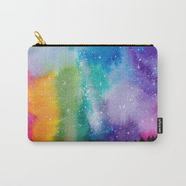 Watercolor rainbow sky Carry-All Pouch