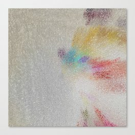 abstract silk road Canvas Print