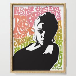 Edie Sedgwick for International Women's Day Serving Tray