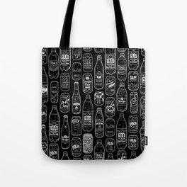 Seltzer Crazy Black Tote Bag