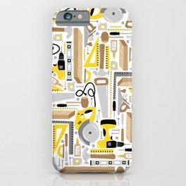 Measure Twice, Cut Once iPhone Case