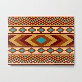Southwestern Navajo Metal Print