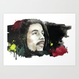 Mr. Marley Art Print