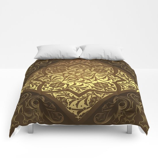 Vintage Flower Pattern Comforters