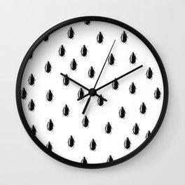 Swim Beetle Wall Clock